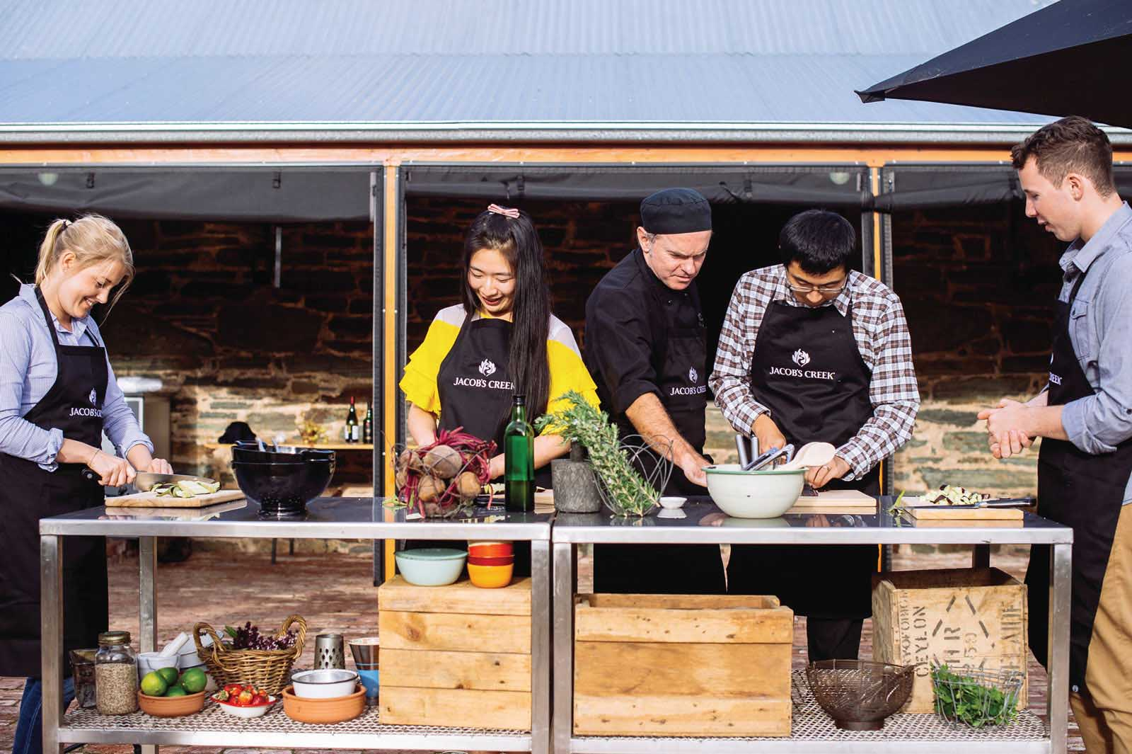 Jacob's Creek Winery cooking class | 10 of the best wineries to visit in South Australia