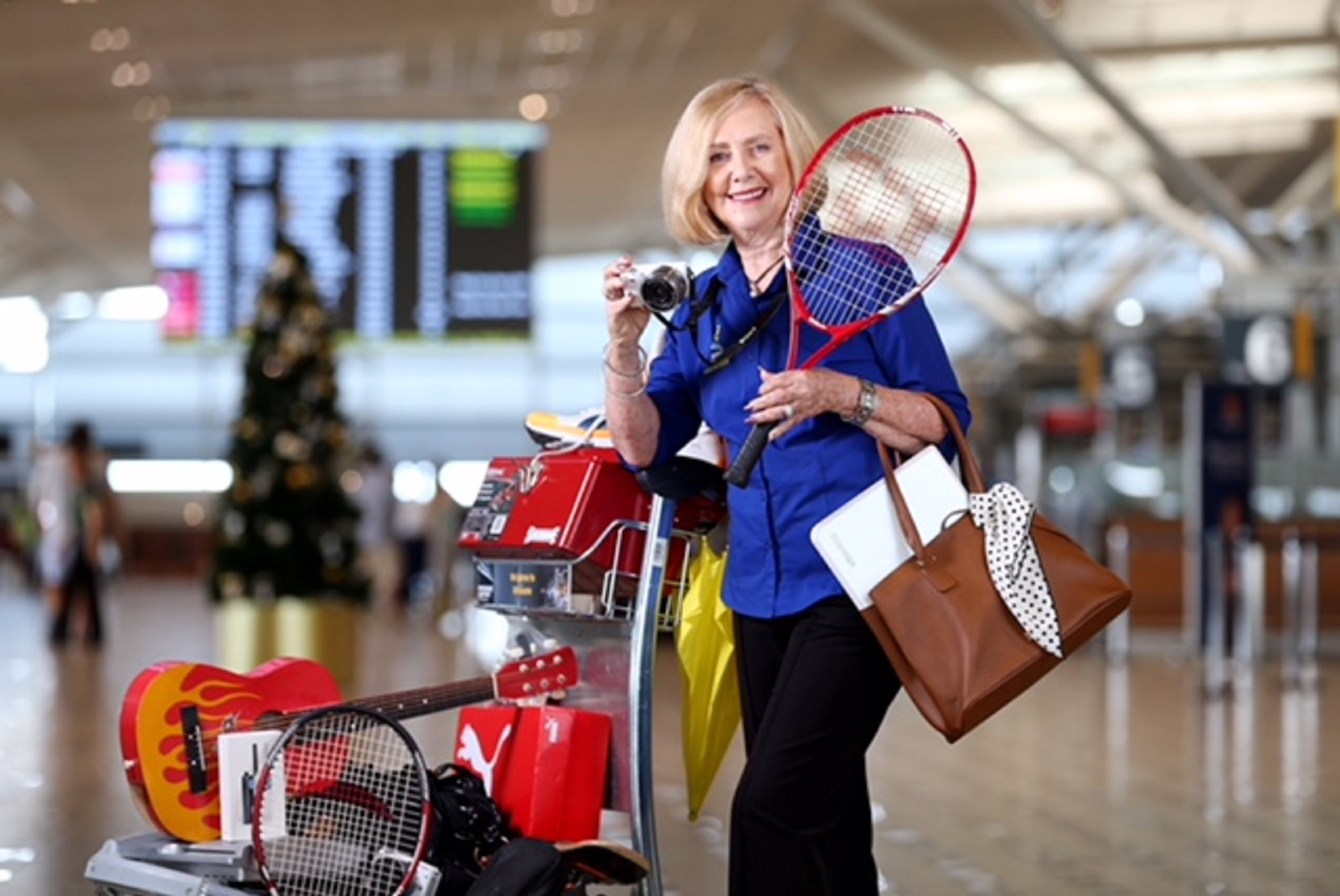 Airport Ambassadors with Lost Property