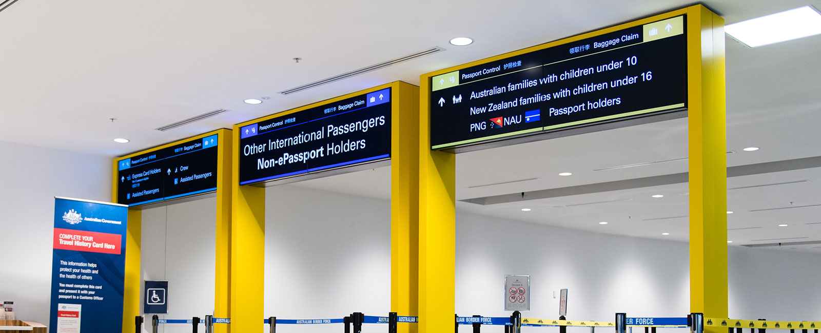 Passenger Screening And Border Security Brisbane Airport