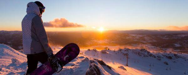 Sunrise in Blue Cow, Perisher | Perisher