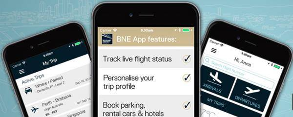 BNE App on iPhone