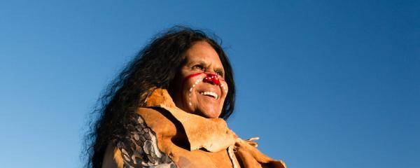 Maroochy Barambah, Songwoman, lawwoman and respected Elder of the Turrbal-Gubbi Gubbi people