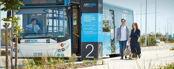 Brisbane Airport Parking - AirPark Transfer Bus