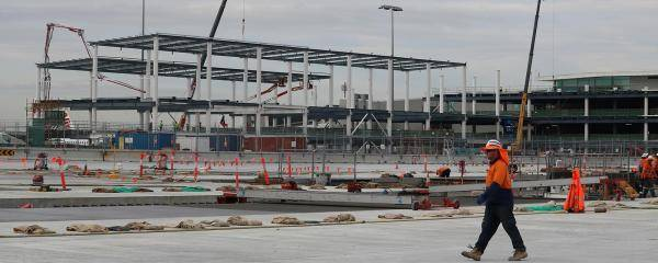 Brisbane International Terminal Expansion Construction
