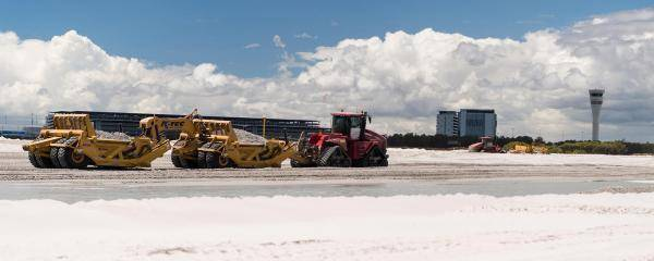 Brisbane's New Runway Construction