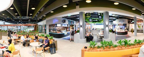 Northern Food Court at BNE's Domestic Terminal