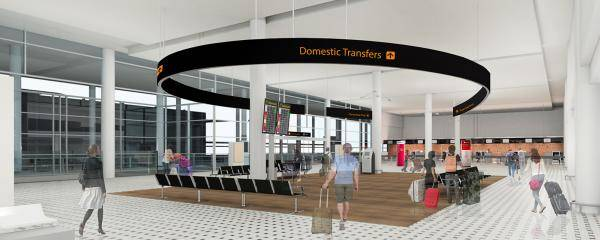 Brisbane Airport International Terminal Transfer project