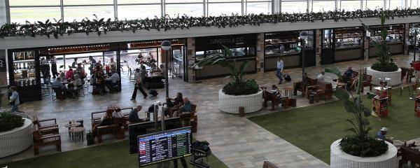 Brisbane Airport International Terminal Level 3 Departures