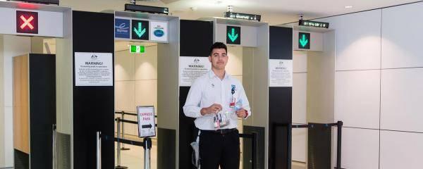 Security Screening   Brisbane Airport