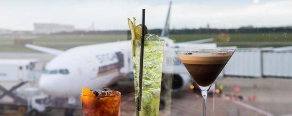 Dining options at Brisbane Airport