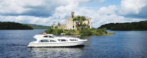 Cruising on Lough Key, River Shannon Ireland | Discover Ireland by boat