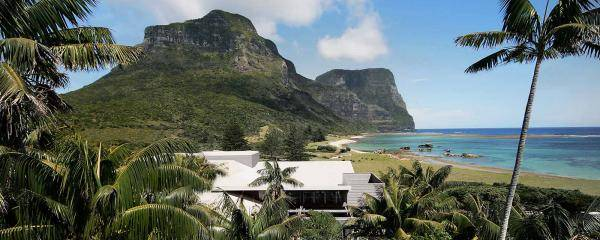 Capella Lodge on Lord Howe Island