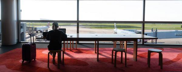 Solo travel at Brisbane Airport's International Terminal