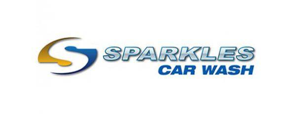 Sparkles Car Wash Logo