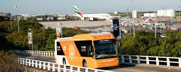 Free Terminal Transfer Bus to the International Terminal