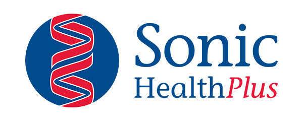 Sonic Health Plus Logo