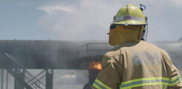 The drill ground at Brisbane Airport allows ARFF to conduct aviation drills