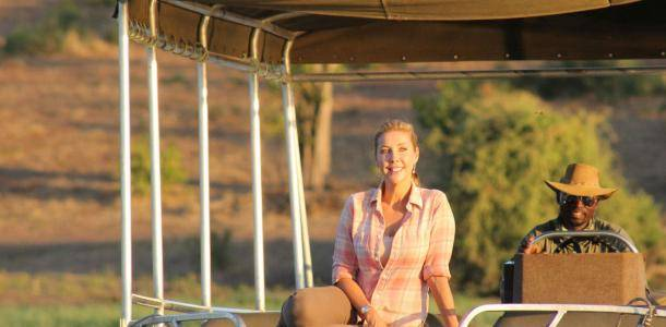 Catriona Rowntree Africa Holiday