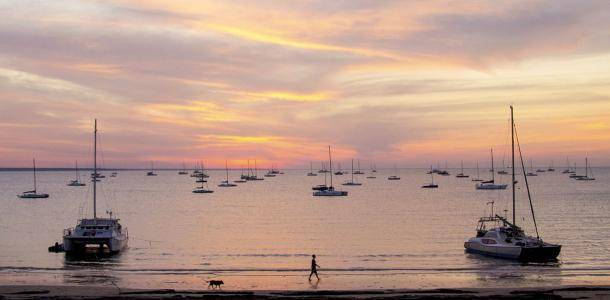 Fannie Bay at sunset | Dawn to dusk outdoors in Darwin
