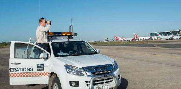 Airside Officer at the International Terminal