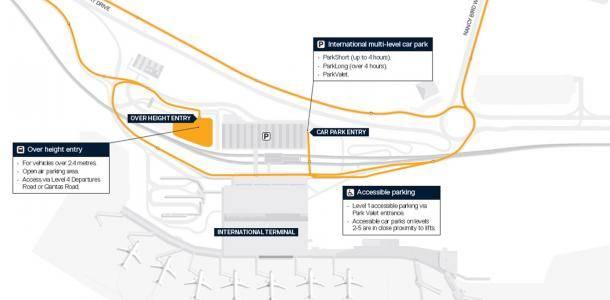 Parking Maps Brisbane Airport
