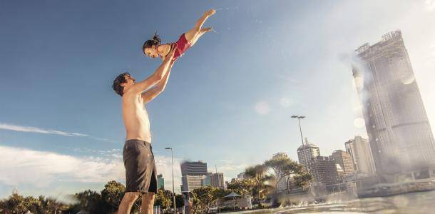 Streets Beach South Bank | 15 cool family fun activities