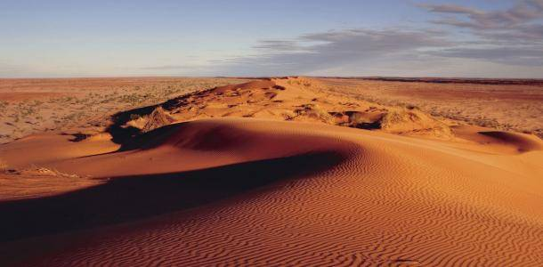 Big Red sand dune near Birdsville | Epic outback guide