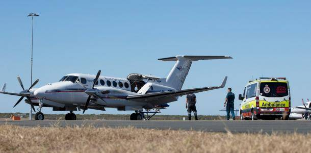 Royal Flying Doctor Service at Brisbane Airport
